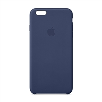 Apple Leather Case for iPhone 6 Plus - Midnight Blue