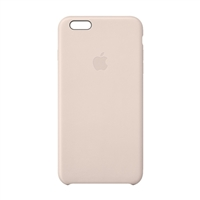 Apple Leather Case for iPhone 6 Plus - Soft Pink