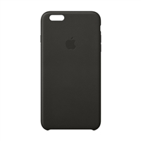 Apple Leather Case for iPhone 6 Plus - Black