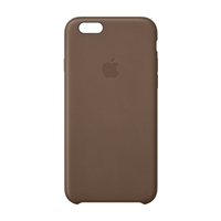 Apple Leather Case for iPhone 6 - Olive Brown