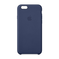 Apple Leather Case for iPhone 6 - Midnight Blue
