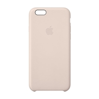 Apple Leather Case for iPhone 6 - soft Pink