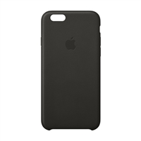 Apple Leather Case for iPhone 6 - Black