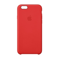 Apple Leather Case for iPhone 6 - Bright Red