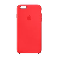 Apple Silicone Case for iPhone 6 Plus - Red