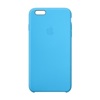 Apple Silicone Case for iPhone 6 Plus - Blue