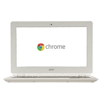 "Acer CB3-111-C670 11.6"" Chromebook 11 - Moonstone White"
