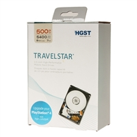 "HGST Travelstar 500GB 5400RPM SATA III 6.0Gb/s 2.5"" Internal Portable Laptop Drive Kit H2IK500852SP"