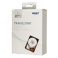 "HGST Travelstar 1TB 5400RPM SATA III 6.0Gb/s 2.5"" Internal Portable Laptop Drive Kit H2IK1000854SP"