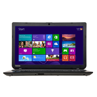 "Toshiba Satellite C55-B5353 15.6"" Laptop Computer - Textured Resin in Jet Black"