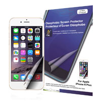 Green Onions Supply Crystal Oleophobic Screen Protector for iPhone 6 Plus - 2 Pack