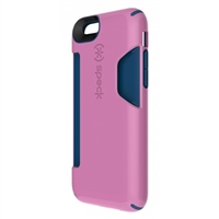 Speck Products CandyShell Card Case for iPhone 6 - Beaming Orchid Purple/Deep Sea Blue