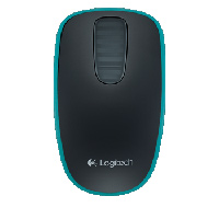 Logitech T400 Zone Touch Wireless Optical Mouse - Blue