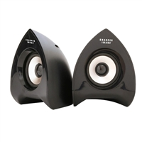 Sharper Image 1000-B Computer Speakers (REFURBISHED)