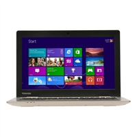 "Toshiba Satellite CL15-B1300 11.6"" Laptop Computer - Fusion Finish in Satin Gold"