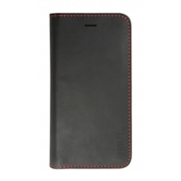 Cygnett Urban Wallet for iPhone 6 Plus - Black with Red Trim