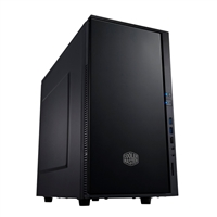 Cooler Master Silencio 352 mATX Mid Tower Computer Case - Black
