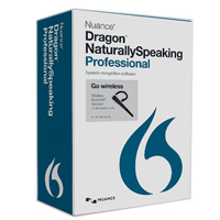 Nuance Dragon NaturallySpeaking Professional Wireless v13