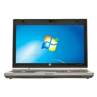 "HP EliteBook 2560 12.1"" Windows 7 Professional Laptop Computer Refurbished - Silver"