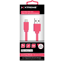 Xtreme Cables 3 ft. Lightning Cable - Red