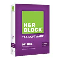 Block Financial Software H&R Block Tax Software - Deluxe State