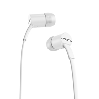Sol Republic JAX Single Button Stereo Earbuds - White
