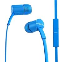 Sol Republic JAX Single Button Stereo Earbuds - Electro Blue