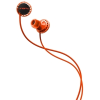 Sol Republic Relays 3 Button Stereo Earbuds - Fluoro Red