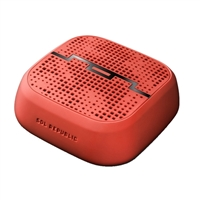Sol Republic PUNK Series Portable Bluetooth Speaker - Red