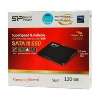 "Silicon Power Slim S60 120GB Sata III 6Gb/s 2.5"" Internal Solid State Drive (SSD) SP120GBSS3S60S25"