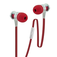 Bytech 3.5mm Metallic Stereo Earbuds with built in Microphone