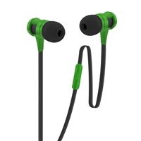 Bytech Stereo Earbuds with Microphone - Metallic