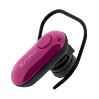Bytech Bluetooth Headset - Pink