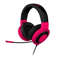 Razer Kraken Pro Neon On Ear Gaming Headset - Neon Red