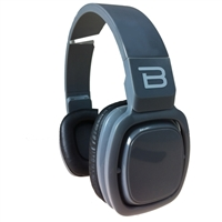 Bytech Over Ear Headset with Microphone - Black