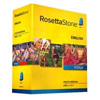 Rosetta Stone English Level 1/2/3 - V4 (PC/Mac)