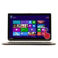 "Toshiba Satellite S55T-B5232 15.6"" Laptop Computer - Brushed Aluminum Finish in Satin Gold"
