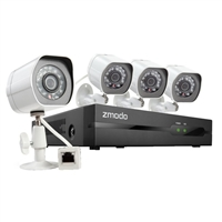 Zmodo 4 Channel All-in-One sPoE NVR Security System w/ 2TB HDD ZM-SS714-2TB
