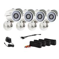 Zmodo ZMD-P4-YARUZ4ZN-N 700TVL High Resolution Day Night Weatherproof Outdoor Camera Kit