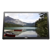 "AOC E1759FWU 17"" 720p USB Powered TFT Active Matrix LCD Portable Monitor"