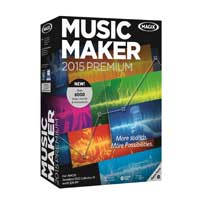 Magix Entertainment Music Maker 2015 PREMIUM
