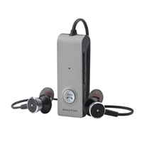 Phiaton Wireless & Active Noise Cancelling Earphones - Gray