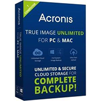 Acronis True Image Unlimited - 1 Device (PC/Mac)