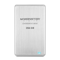 Monster Digital Overdrive 3.0 256GB Mini USB 3.0 External SSD