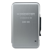 Monster Digital 240GB Overdrive SSD Thunderbolt External Hard Drive