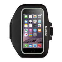 Belkin Sport-Fit Plus Armband for iPhone 6 - Black