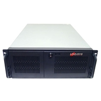 Logisys Industrial 4U Server Chassis CS6501H - Black/Silver