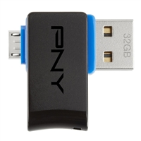 PNY 32GB DUO-Link OTG USB Flash Drive