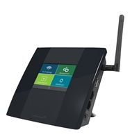 "Amped Wireless High Power Wi-Fi Range Extender w/ 2.5"" Touch Screen"
