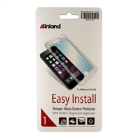 Inland Tempered Glass Screen Protector for iPhone 6 Plus